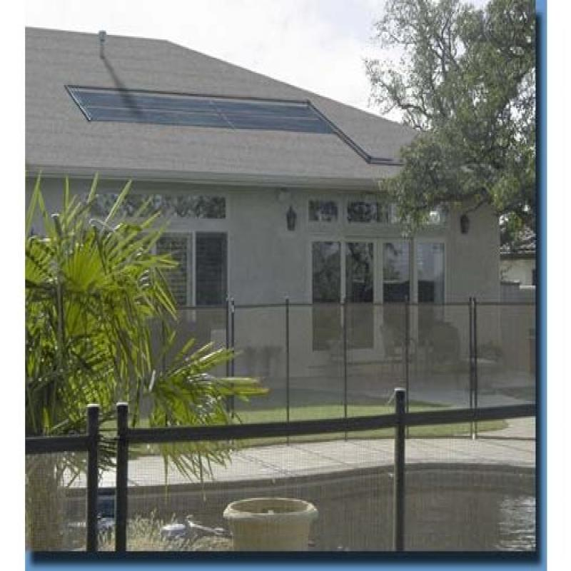 2 2 X20 Solar Pool Heater W Diverter And Roof Rack