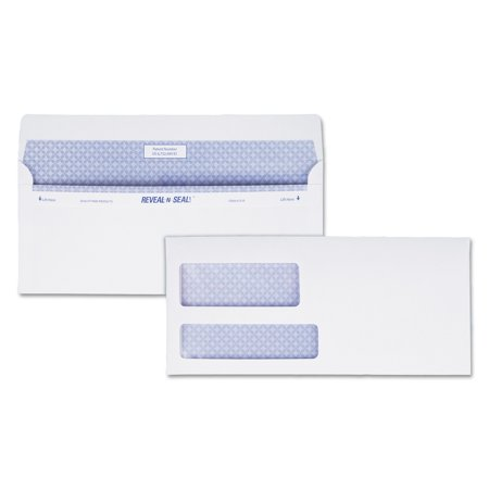 Quality Park Reveal N Seal Double Window Invoice Envelope Self - Quickbooks invoice envelopes