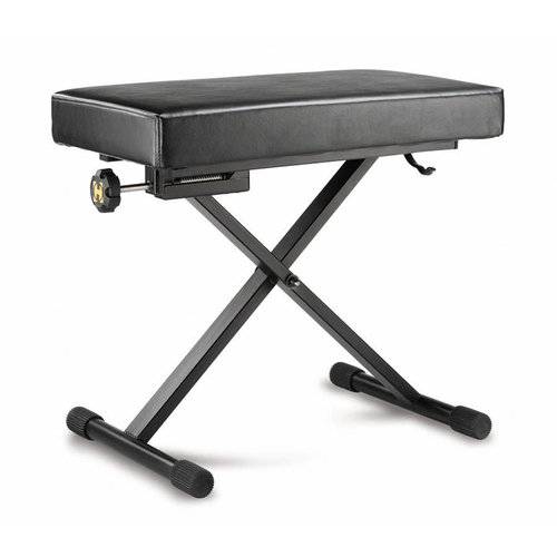 Hercules KB-200B Keyboard Bench with EZ Height Adjustment and Micro Adjuster by Hercules Stands