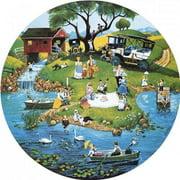 Sunsout Puzzle Company River Festival Multi-Colored