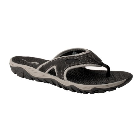 Ozark Trail Men's Pebble Rugged Sandal (Mens Rugged Casual Sandal)