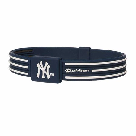 Phiten Anium Bracelet S Type New York Yankees 6 3 4 Inc