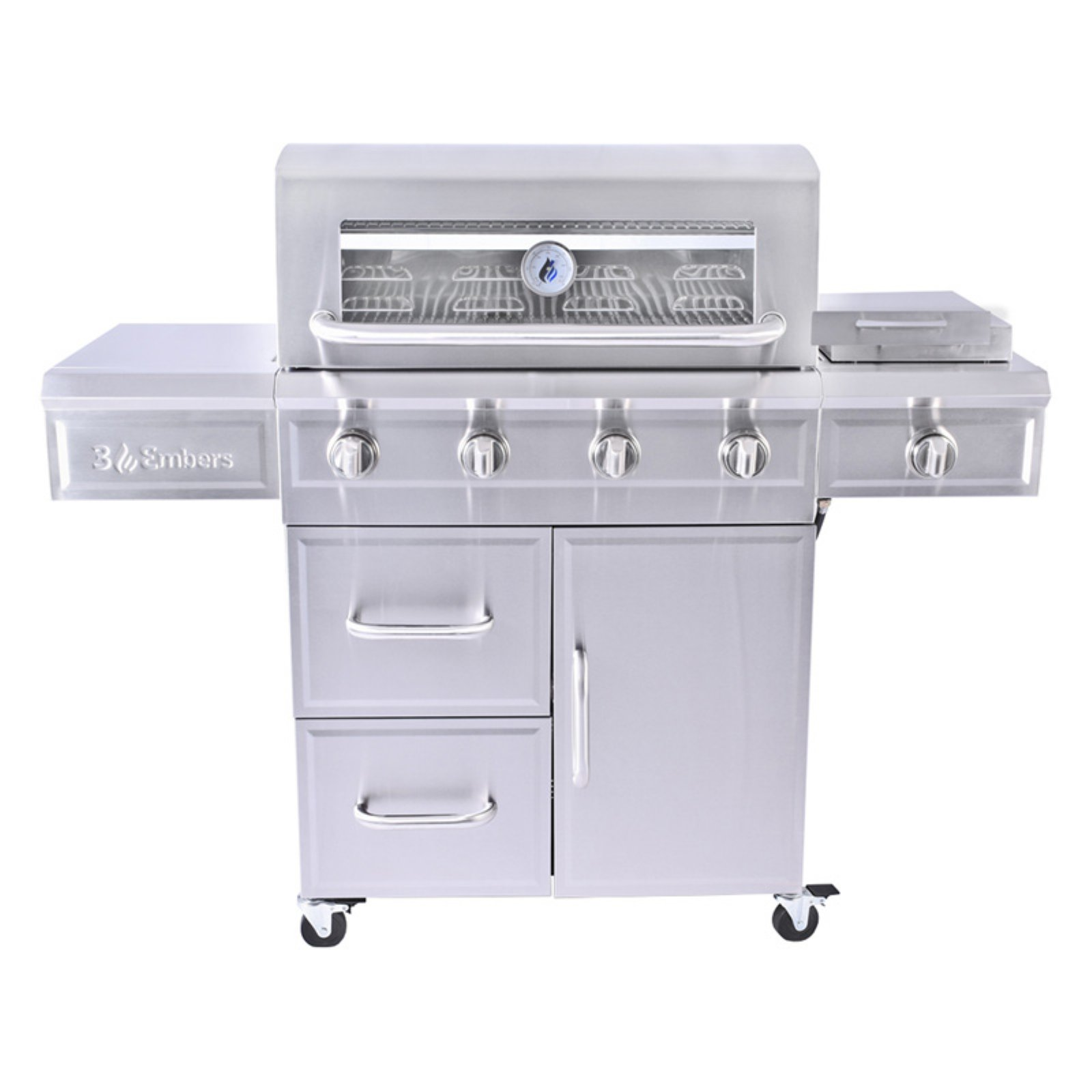 3 Embers GAS7480BS 4-burner Gas Grill by The Boltz Group LLC