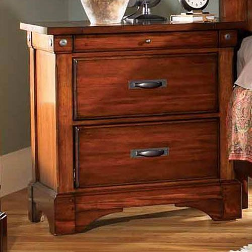 A-America Kalispell 3 Drawer Nightstand