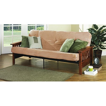 Better Homes And Gardens Wood Arm Full Size Futon Frame Box 2 Of 3