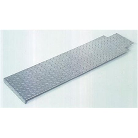 42 Inch Deck - Wesco 220514 22 inch W x 42 inch H x 1 inch D Cobra Platform Deck