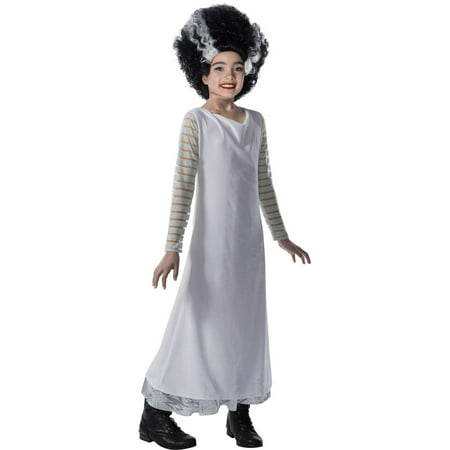 Universal Monsters Girls Bride Of Frankenstein (Children's Bride Of Frankenstein Costume)
