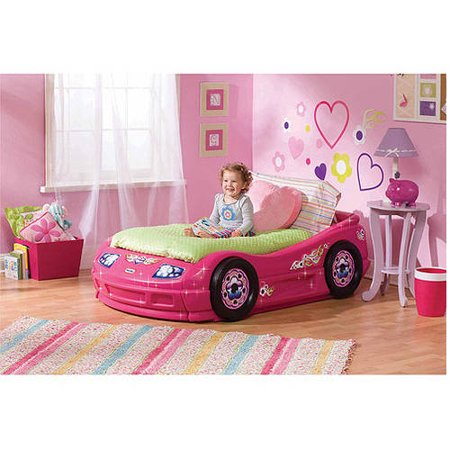 Princess Pink Toddler Roadster Bed Walmart Com