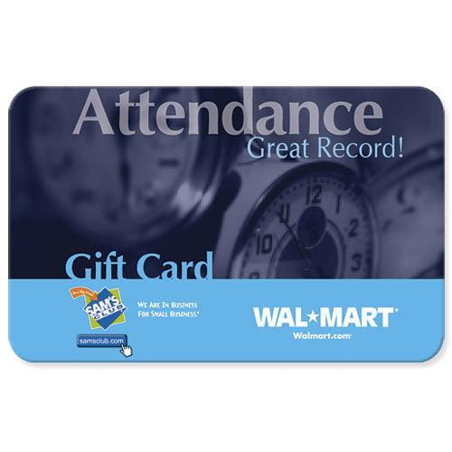 Attendance Gift Card Walmart Com Walmart Com