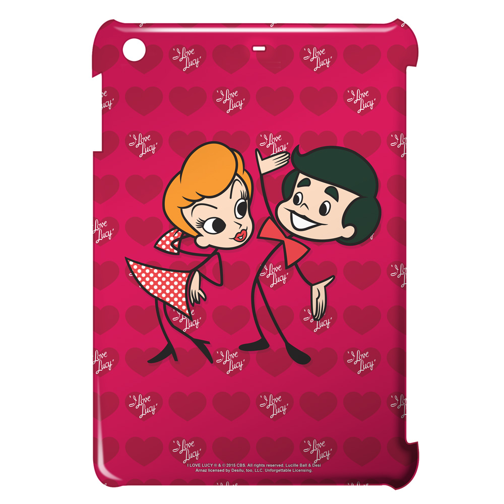 I Love Lucy Ricky and Lucy Ipad Mini Case White Ipad Mini