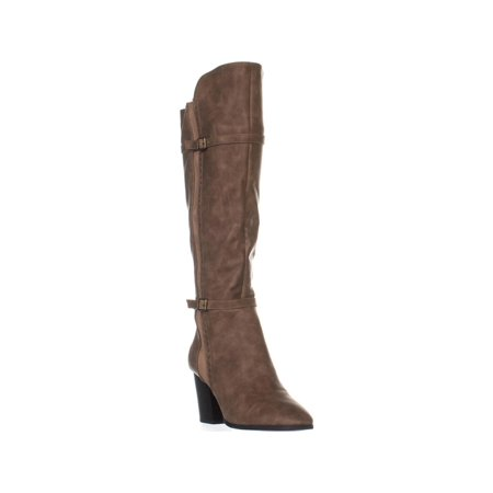 Womens Easy Street Melrose Knee High Boots, Taupe](Boots 70 Sale)
