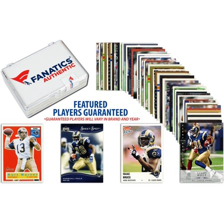 St. Louis Rams Team Trading Card Block/50 Card Lot