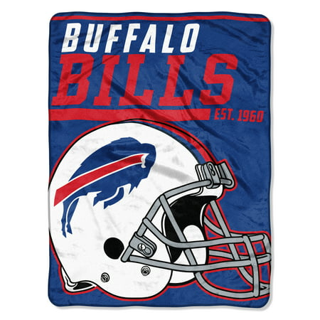 "NFL Buffalo Bills ""40-Yard Dash"" 46""x 60"" Micro Raschel Throw - Buffalo Nfl"