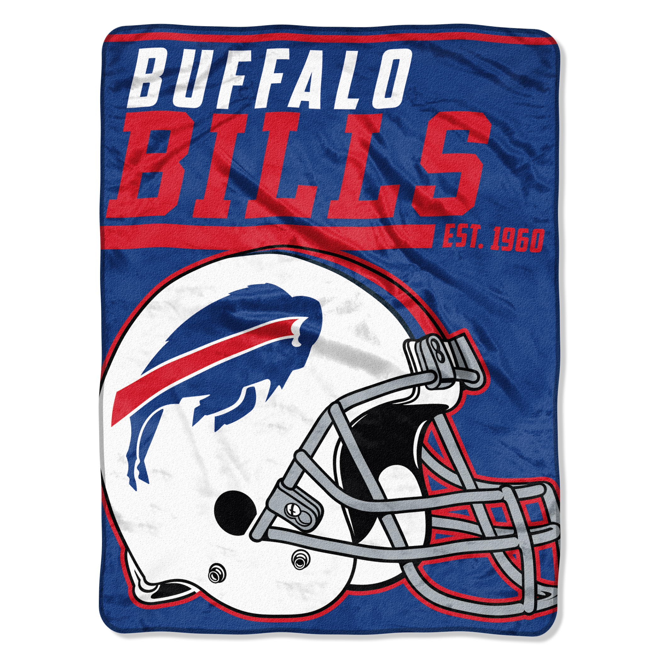 "NFL Buffalo Bills ""40-Yard Dash"" 46""x 60"" Micro Raschel Throw"