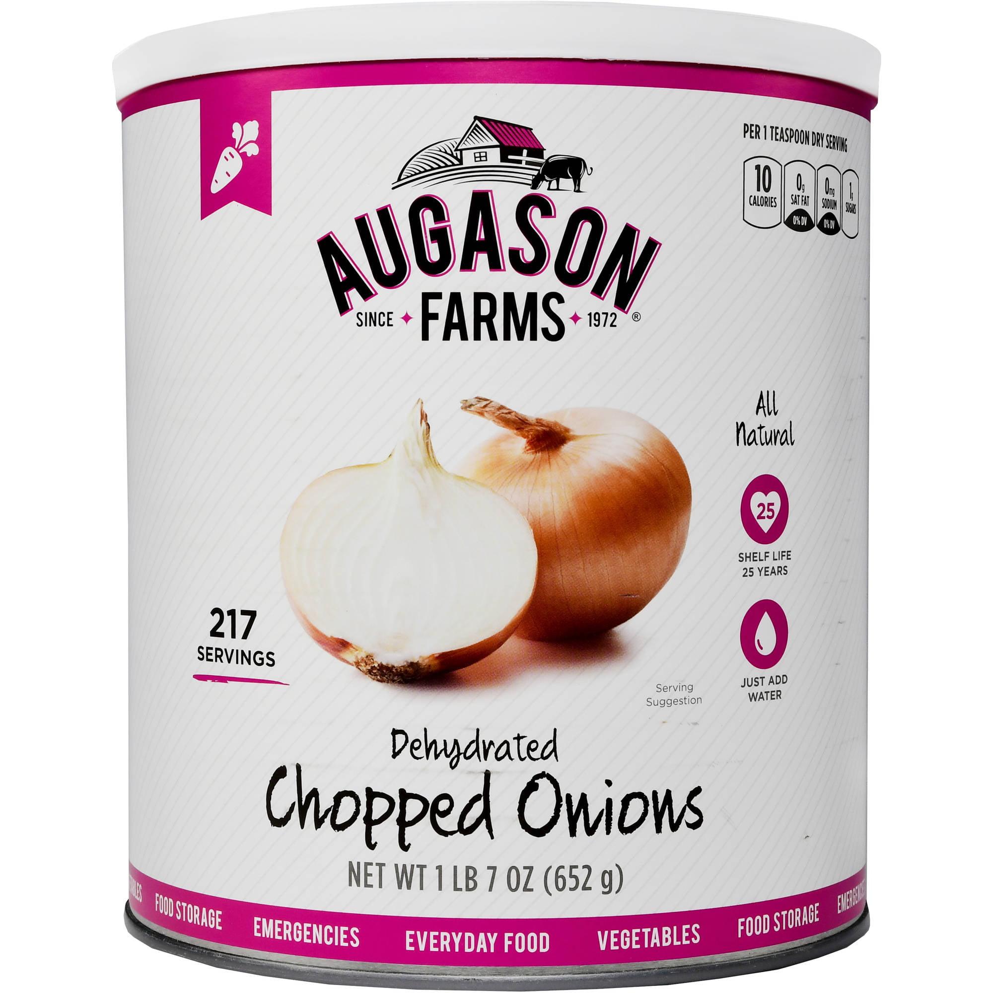 Augason Farms Emergency Food Dehydrated Chopped Onions, 23 oz by Generic