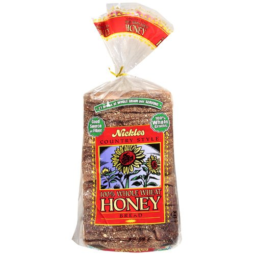 Nickles Honey Whole Wheat Bread, 26 oz