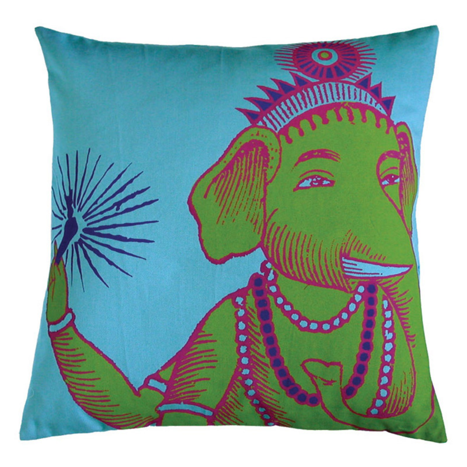 Koko Company Bazaar Turquoise Decorative Pillow