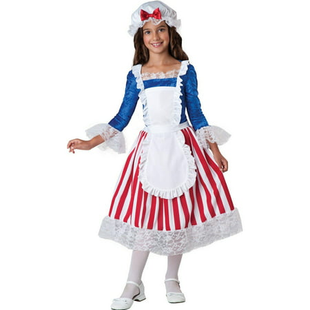 Betsy Ross Child Halloween Costume (Baker Ross Halloween Crafts)