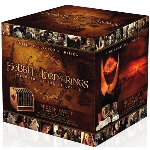 Middle-Earth Limited Collector's Edition: The Hobbit   The Lord Of The Rings Extended Edition Trilogies... by