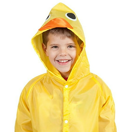 Cloudnine Children's Duck Raincoat, for ages 5-12 One size fits