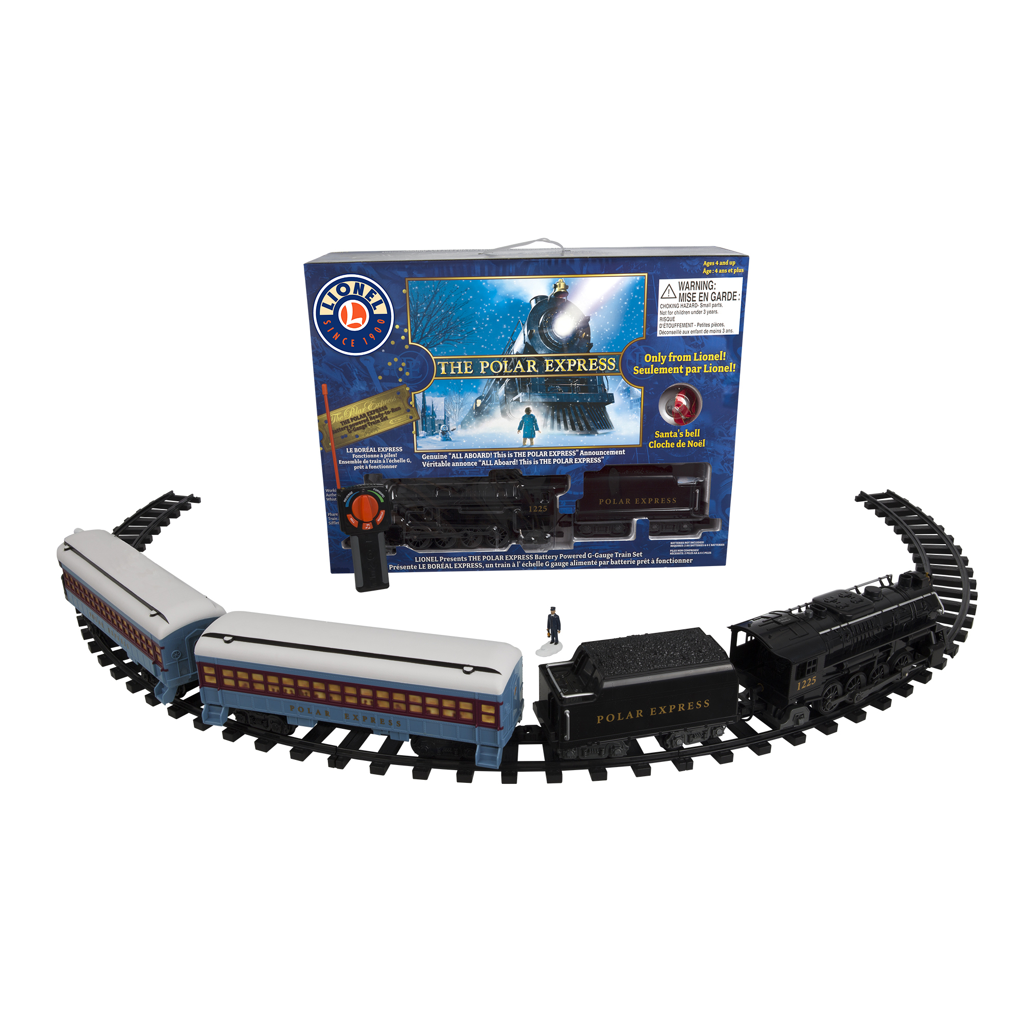 Lionel Trains The Polar Express Seasonal Ready to Play Set by Lionel, LLC