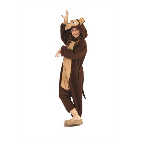 Girls Morgan the Monkey Costume - Morgan Halloween
