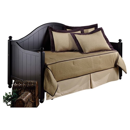 Hillsdale Furniture Augusta Day Bed in Rubbed Black by