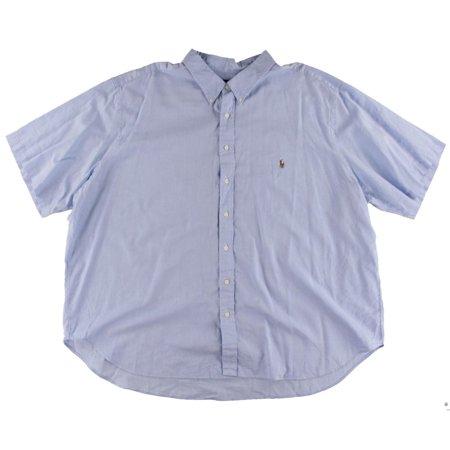Lauren Ralph Lauren Mens Big & Tall Oxford Chambray Button-Down Shirt