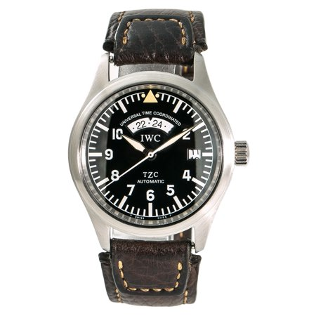 Pre-Owned Iwc Pilot IW325103 Steel 39mm  Watch (Certified Authentic & (Iwc Power Reserve)