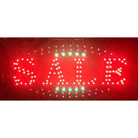 Sale Led Store Commerical Public Location Flashing Electric Sign  Electric Sign Has Composed Of A Number Of Led Bulbs And Some Parts Of The Sign Flash By Chv From Usa
