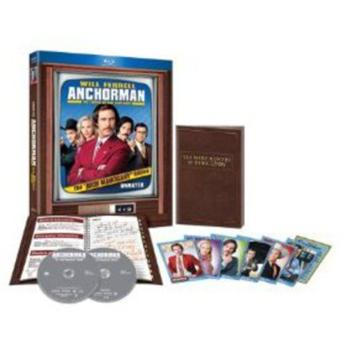 Anchorman: The Legend Of Ron Burgundy (Rich Mahogany Edition) (With Anchorman 2: The Legend Continues Movie Money) (Blu-ray)