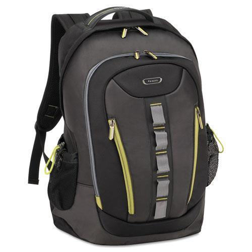 Solo Storm Laptop Backpack, Black / Gray