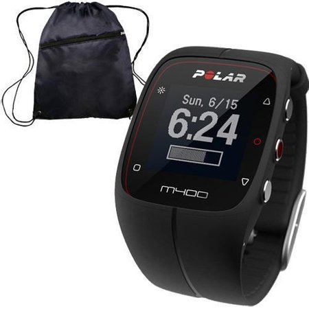 Polar 90051090- M400 GPS Training Companion Without Heart Rate with Bag - Black