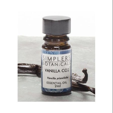 Essential Oil Vanilla CO2 Simplers Botanicals 2 ml Liquid