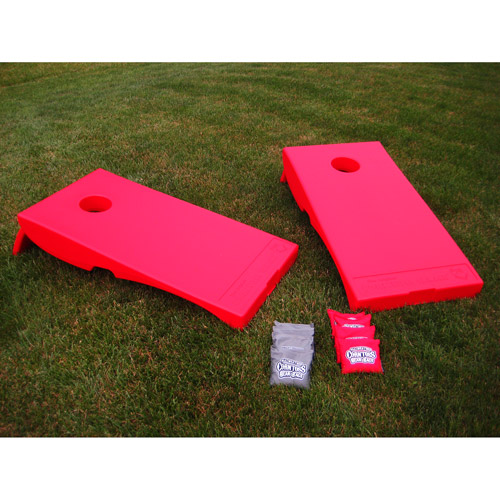 Driveway Games All-Weather Corntoss Bean Bag Game, Red Targets