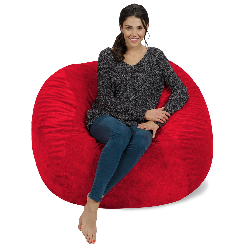 Memory Foam Bean Bag Chair - 4 ft