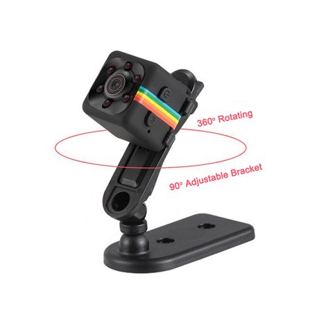 SQ11 Mini Camera 1080P HD Night Vision Sports Camcorder Mini DV DVR Video Recorder - image 5 of 8