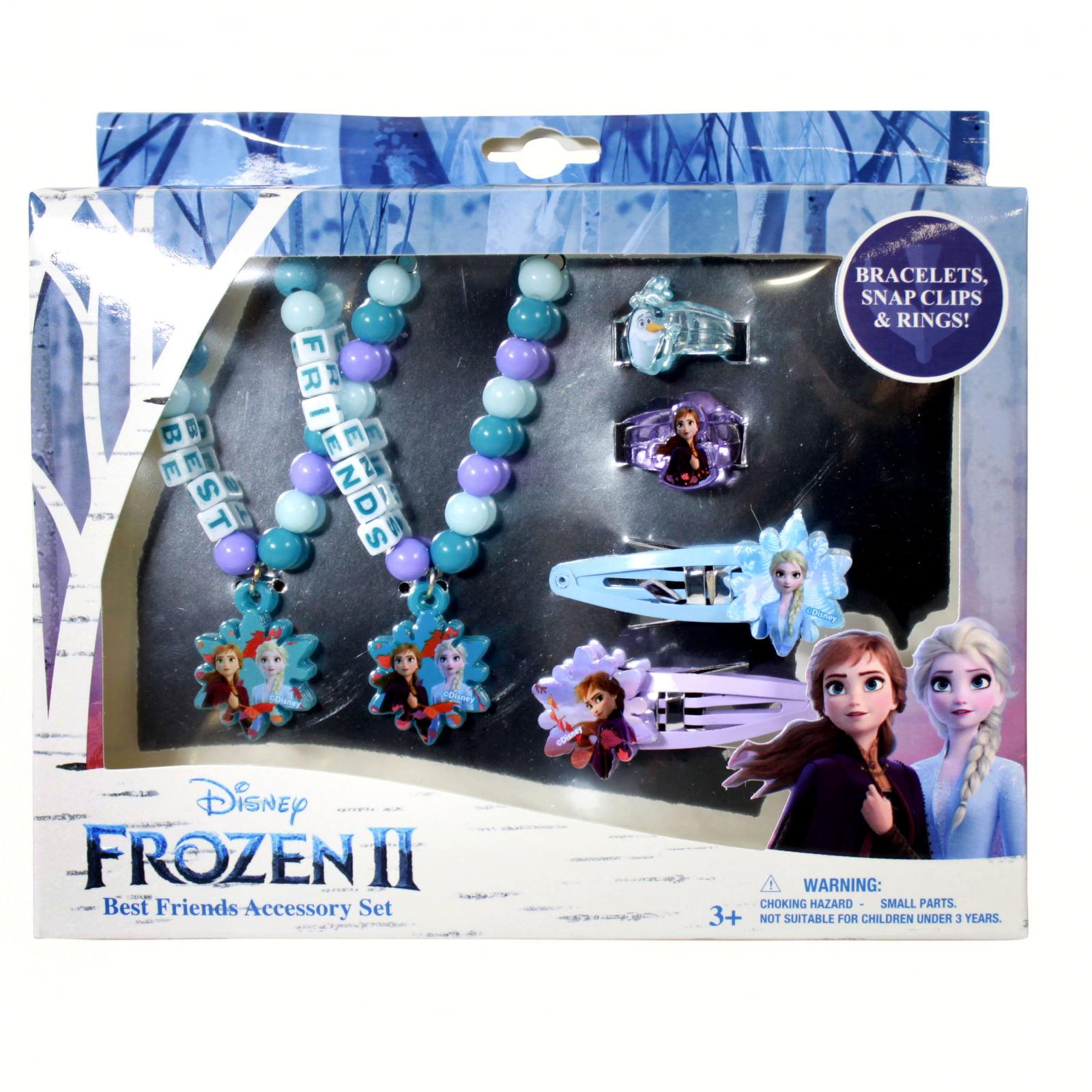 6pc Toy jewlery set NEW Disney Frozen Elsa /& Anna BFF Bundle