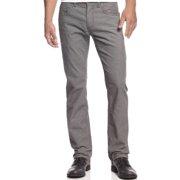 INC NEW Gray Skies Solid Men's Size 34X29 Straight-Leg Corduroy Pants