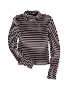 2e979e1a61eb Product Image Aeropostale Juniors Striped Turtleneck Pullover Sweater