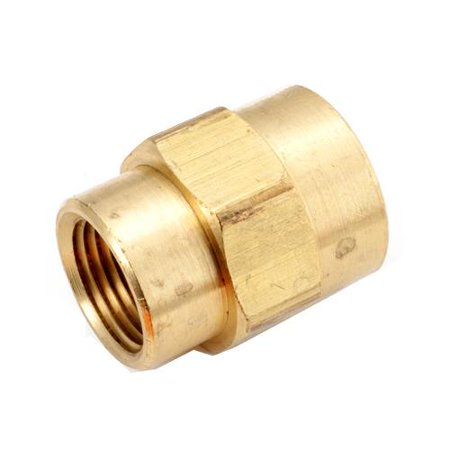 Anderson Metals (Anderson Metals 756119-0604 Pipe Fitting, Bell Reducing Coupling, Lead-Free Brass, 3/8 x 1/4-In.)