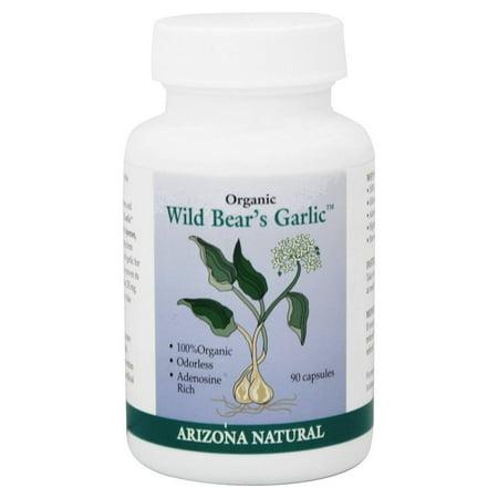 Arizona Natural - Ail 235 mg de Bear sauvage biologique. - 90 Capsules