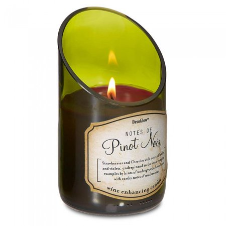 WINE BOTTLE PINOT NOIR SCENTED CANDLE (Pomegranate Noir Scented Candle)