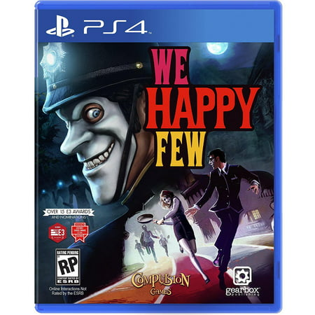 Gearbox Software, LLC We Happy Few (PS4)