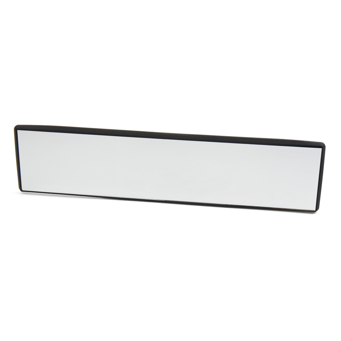 300mm Length Black Plastic Frame Car Interior Wide Angle Flat Rearview Mirror