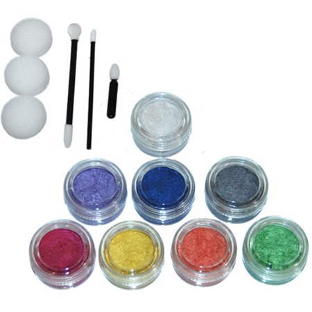 8 Color 10Ml Face Paint Pearl Custom Body Art Makeup Color](Face Paint Halloween Makeup Tutorial)