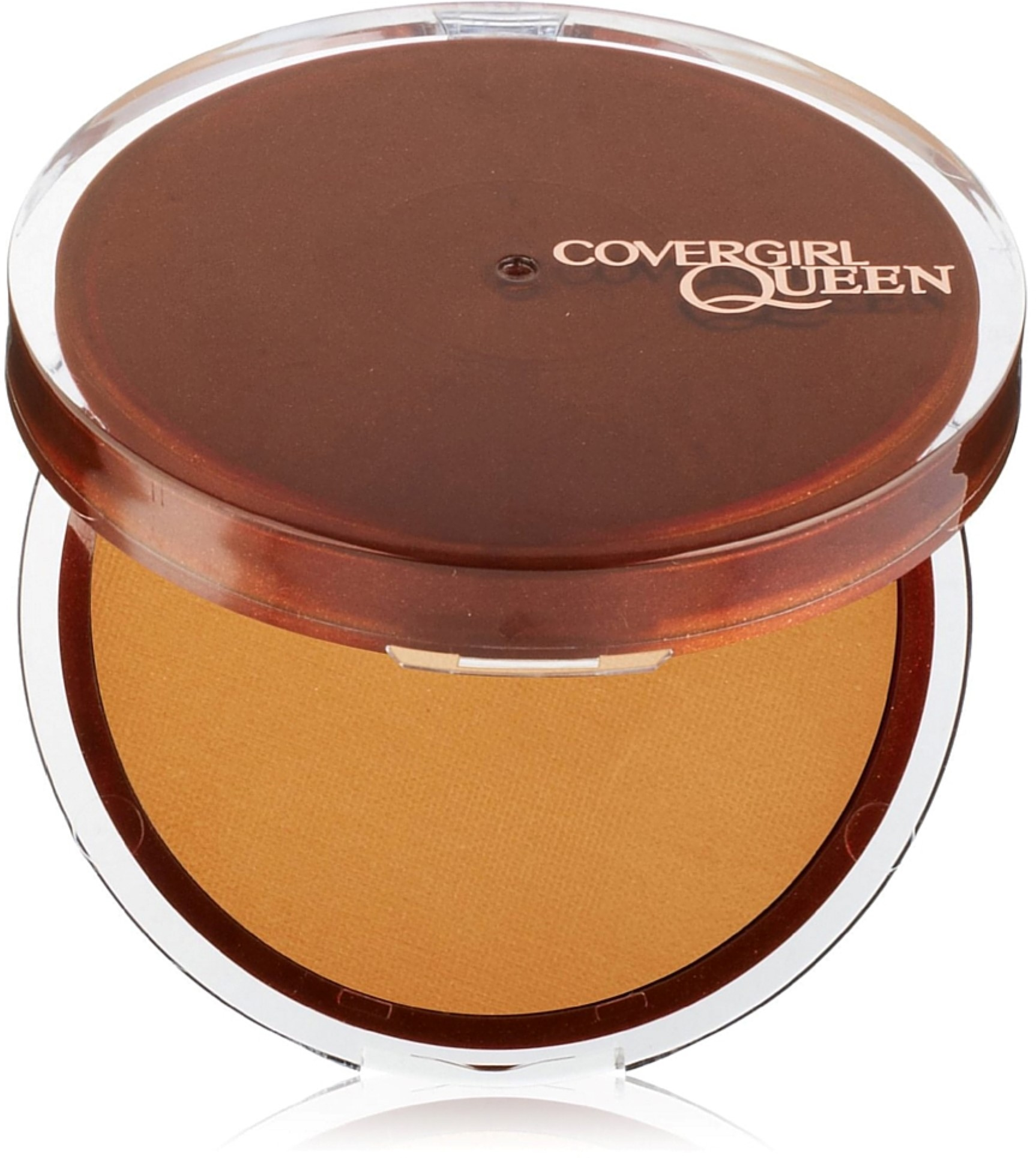 CoverGirl Queen Collection Lasting Matte Pressed Powder, Golden [Q410] 0.37 oz (Pack of 4)