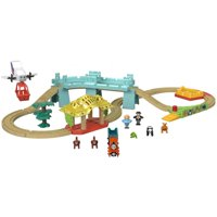 Thomas & Friends Wood Big World Adventure Train Set