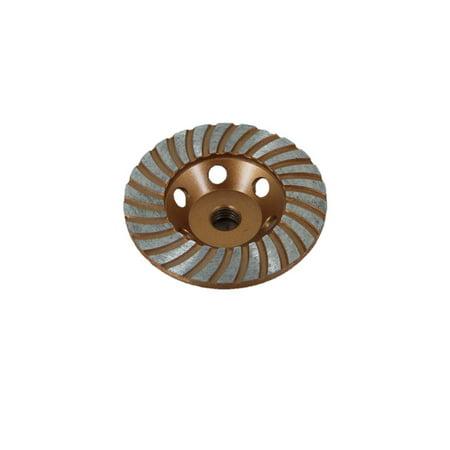 TEMO 4 inch (100mm) DIAMOND TURBO segment Grinding Cup Wheel 5/8
