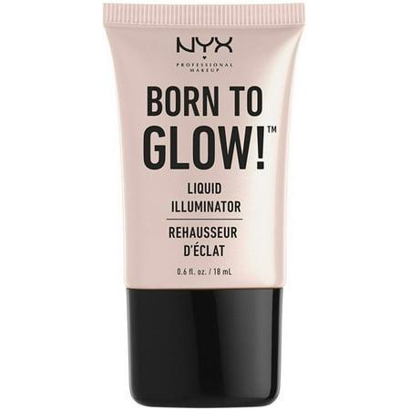 4 Pack - NYX Born to Glow Liquid Illuminator 0.6